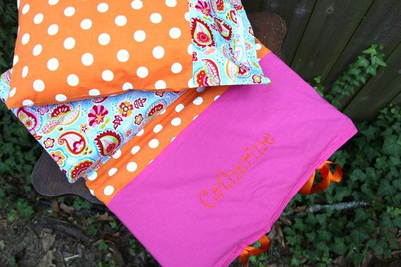 custom nap mat cover by carolinekatedesigns