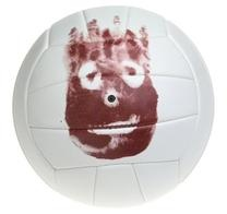 "#Wilson Castaway #Volleyball    Product Features  Replica of wilson from the movie ""cast away""  Plyurethane cover materia  18 panel machine sewn construction  Butyl rubber bladder    Price: $23.49"
