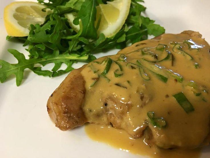 Creamy Mustard Pork Chops | Slow Cooker Central