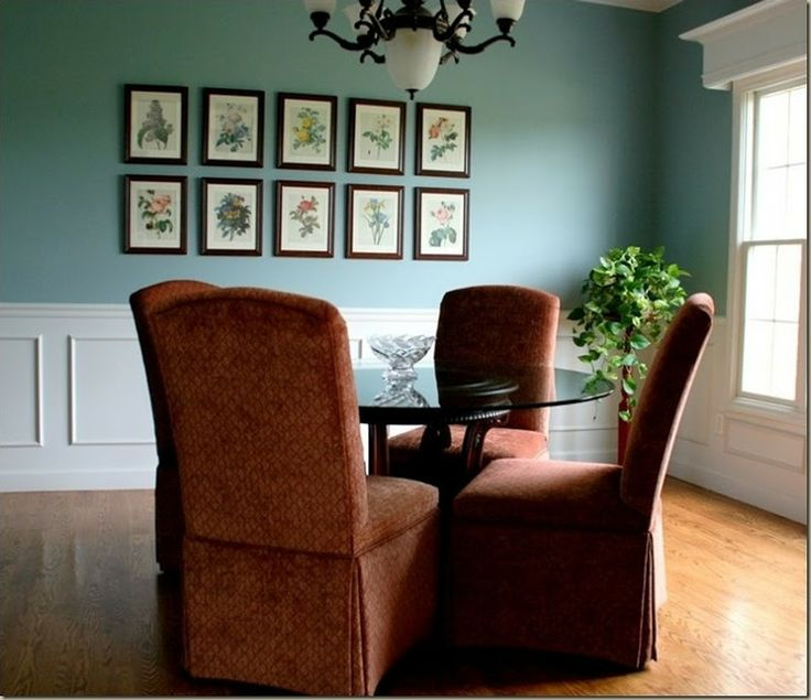 Interesting Living Room Paint Color Ideas: 'Interesting Aqua' Paint By Sherwin Williams -- Really