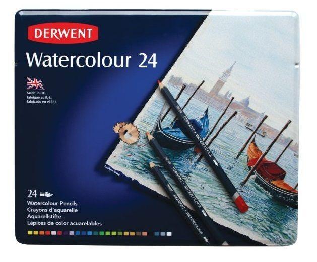 Derwent Watercolour Pencil 24 Piece Tin, $54.95 (http://www.artshedonline.com.au/derwent-watercolour-pencil-24-piece-tin/)