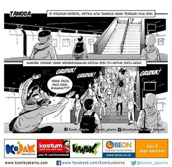 Tangga by @haryadhi #KomikJakarta https://t.co/FEcmVNUIXn