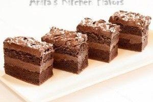 Prajitura cu ciocolata si cacao - Culinar.ro