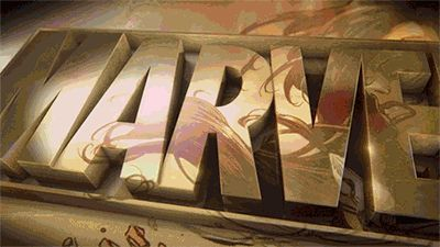 I love this gif.  Usually when my goosebumps start.  Always a symbol of good things to come.  #marvel