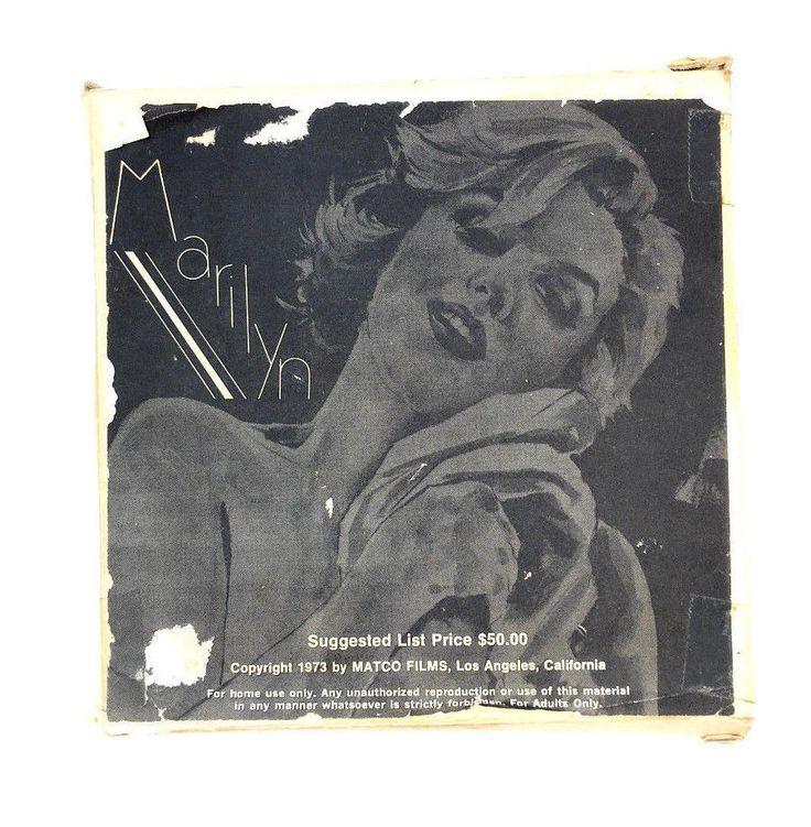 Vintage 1973 MARILYN MONROE ARLINE HUNTER 8MM Stag Film APPLE-KNOCKERS & COKE