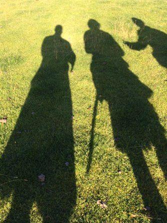 New 'Shadow' Pic of Sam Heughan, Graham McTavish and Duncan Lacroix From Graham McTavish Highlanders cast long shadows...@Outlander_Starz @SamHeughan #DuncanLaCroix