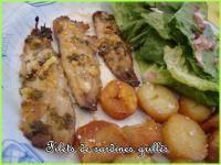 Sardines grillées au four