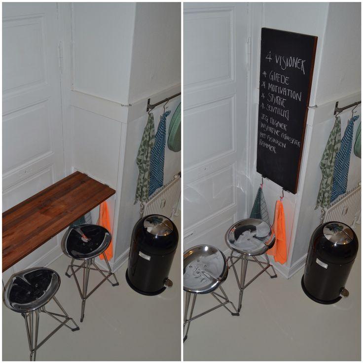 Skab mere bordplads i køkkenet uden at tage mere plads.