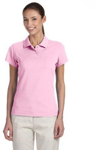adidas Ladies ClimaLite Pique Polo Shirt. A85