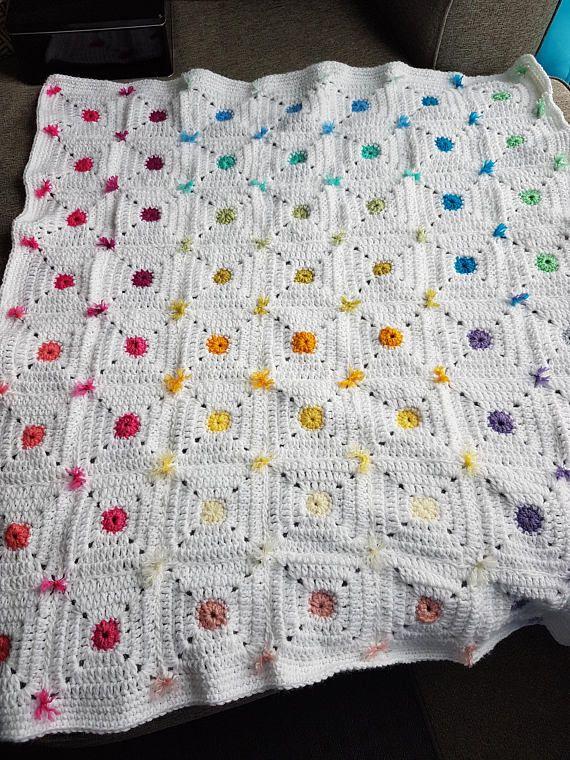 Crayon Box Granny Square Crochet Pattern (Skill Level: Easy ...