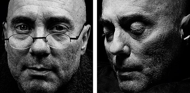 """Photographer Walter Schels: """"POWERFUL PORTRAITS OF INDIVIDUALS BEFORE AND DIRECTLY AFTER THEIR DEATH"""" (Image: Name: Heiner Schmitz, Age: 52, Born: 26th November 1951, Died: 14th December 2003, at Leuchtfeuer Hospice, Hamburg.) -This report must be read-"""