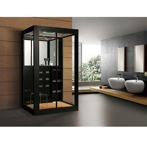 Cabina de ducha Ducha vapor Baño de vapor Ducha lista Sauna Ducha de lujo 60°C
