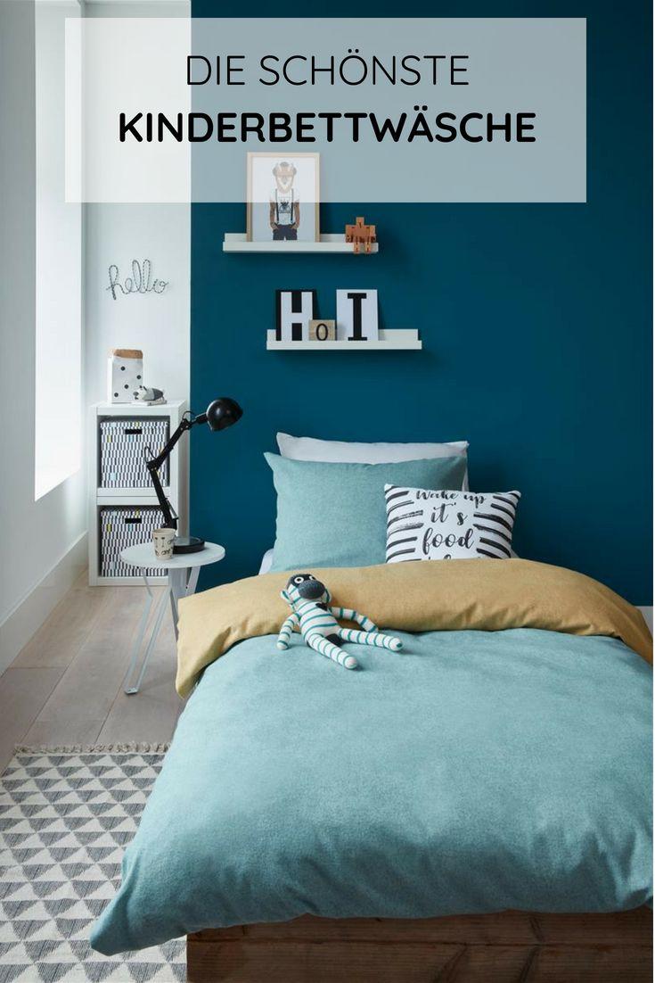 Kinderbettwäsche für Jungen & Mädchen in 100×135 und 135×200 – moderne Bettwäsche fürs Kinderzimmer jetzt online entdecken // Kinderzimmer Ideen …