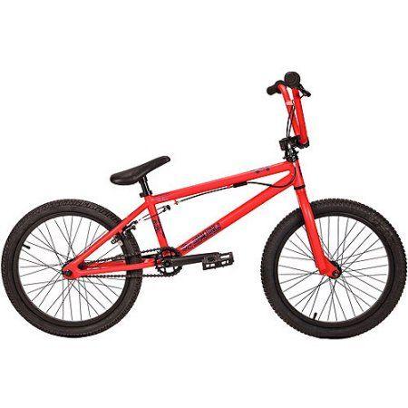20 inch DK The Machine BMX Bike, Red
