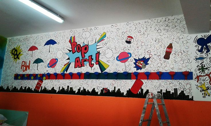 Pop Art Wall