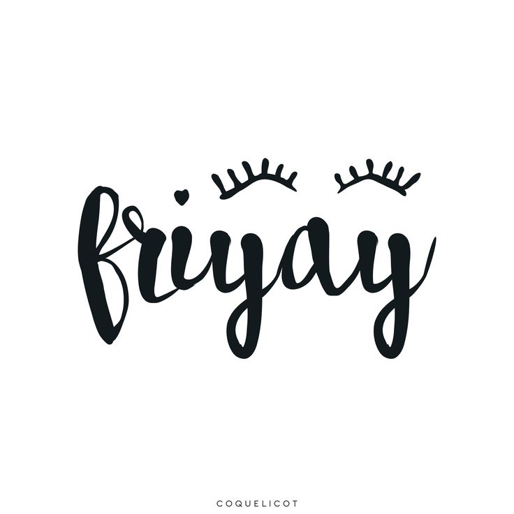 It's Friday ! ✨❤️