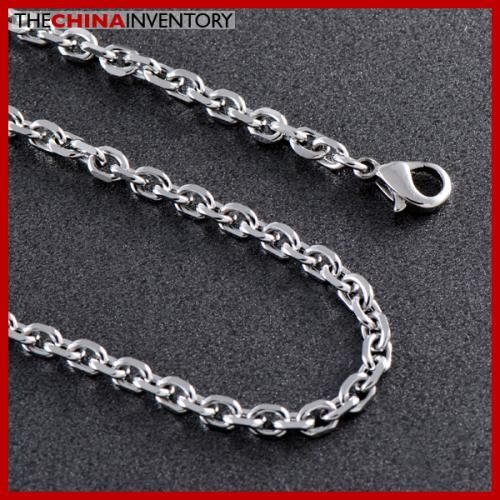 6MM 23` STAINLESS STEEL CABLE CHAIN NECKLACE N1103