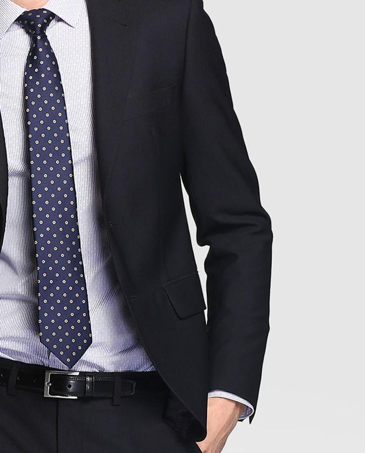 Traje de hombre Dustin liso negro · Dustin · Moda · El Corte Inglés