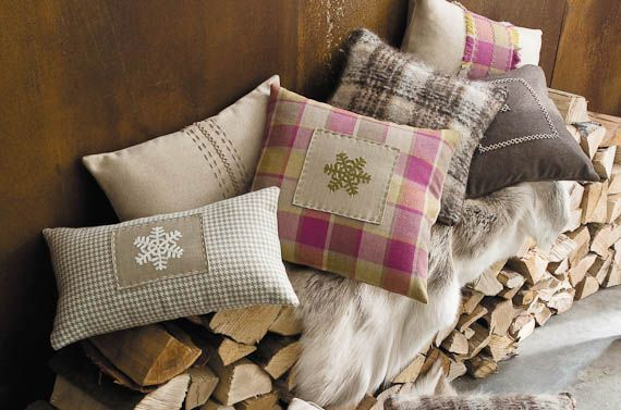 Christmas at Home | Sierra fabrics by Casamance | Jane Clayton