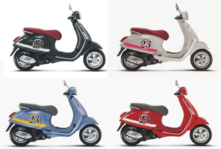 Vespa Primavera Simply Striping Concept Series Cutting
