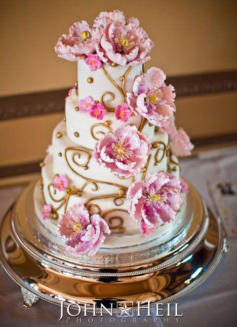 Such a pretty cake: Pink Wedding, Design Cake, Cake Wedding, Food Cake, Cake Design, Beautiful Cake, Decor Cake, Wedding Cake, Flower Cake