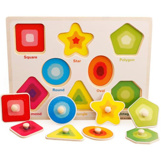 Children Puzzle Cards Pre-Educational Intelligence Toy Set