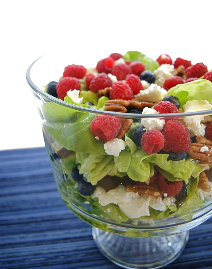 Spring Trifle Salad