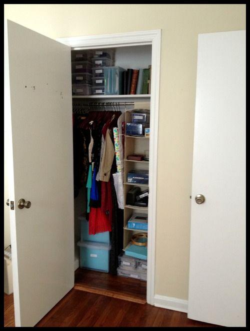 U0027afteru0027 Small Closet Reorganization.