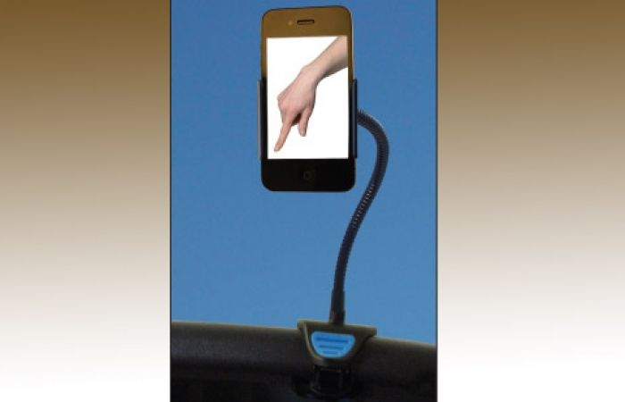 Mobile Tech Tips for Weak Hands   Quest Magazine Online - photo of a smartphone stand/holder