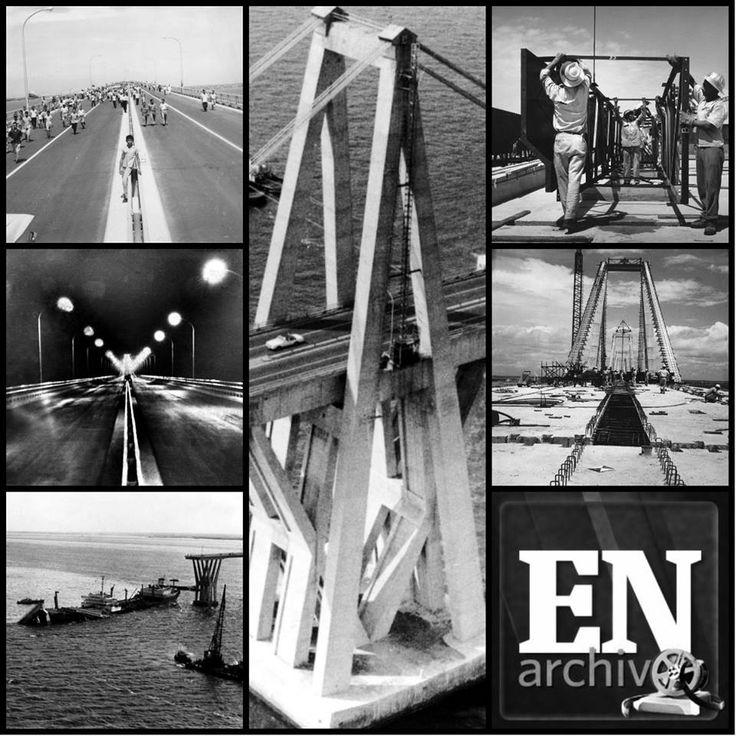 El Puente Rafael Urdaneta, conocido como el Puente sobre el lago. Fotos (ARCHIVO EL NACIONAL): Fotos Archivo, Foto Pin-Up, Foto Archivo