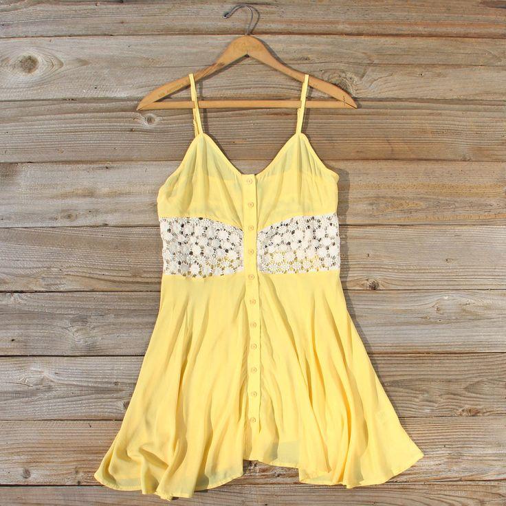 Dandelion & Lace Dress: Alternate View #1