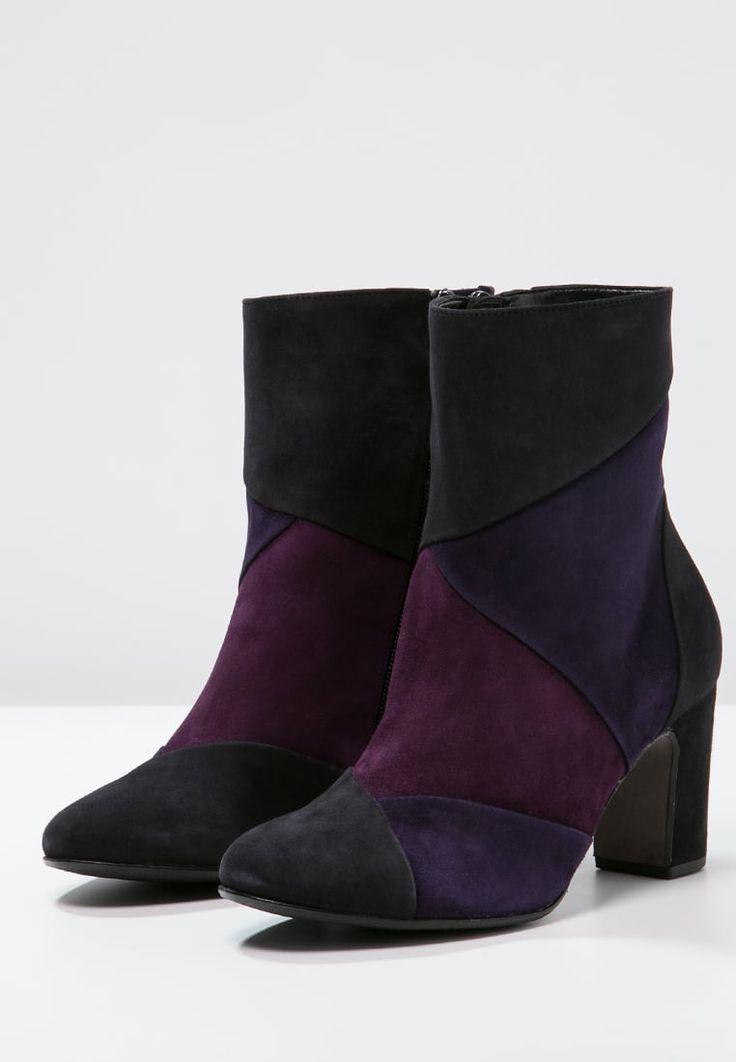 gabor shoes ag outlet, Women Ankle Boots Gabor Boots - pazifik/pflaume, gabor nell knee high boots official authorized store