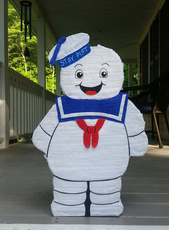 Hey, I found this really awesome Etsy listing at https://www.etsy.com/listing/384577938/ghostbusters-party-stay-puft-pinata