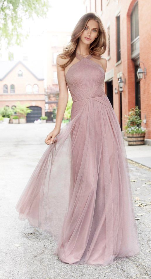 Courtesy of Hayley Paige Occasions bridesmaids dresses from JLM Couture; Bridesmaid dress idea.