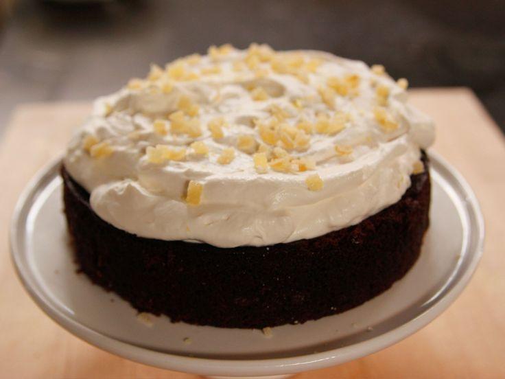 Ina Garten Ginger Lemon Molasses Cake