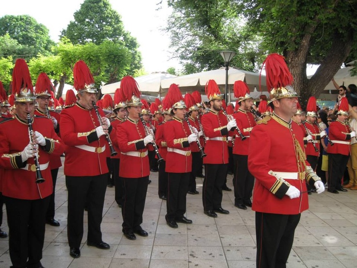 Another #Corfu marching band for #Greek #Easter