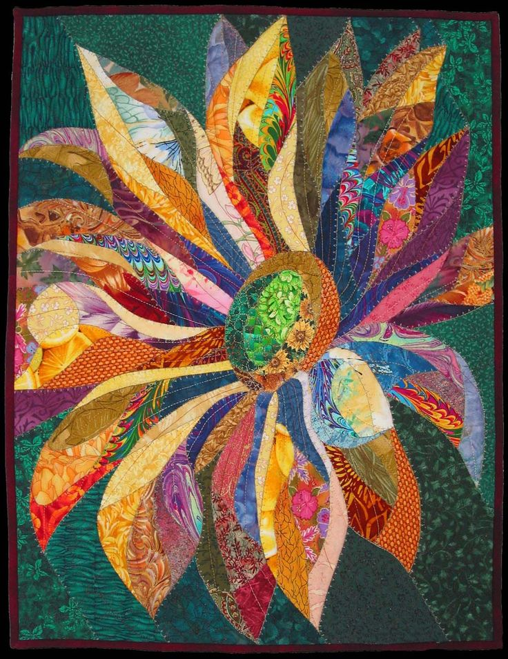 "Small Flower (c) Vanessa Brisson 2005 19.5""x15"""