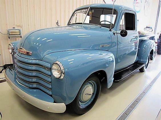 1952 Chevrolet Thriftmaster 3100 Pickup.