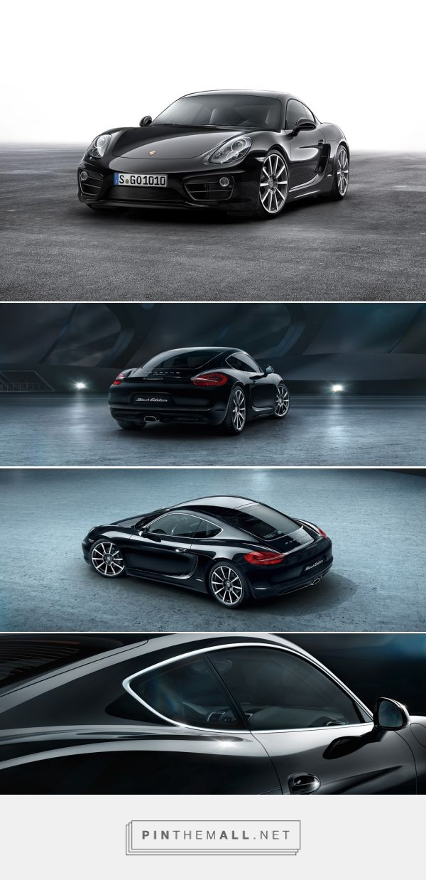 The New Porsche Cayman Black Edition at Carhoots.  http://www.carhoots.com/news/the-new-porsche-cayman-is-revealed/