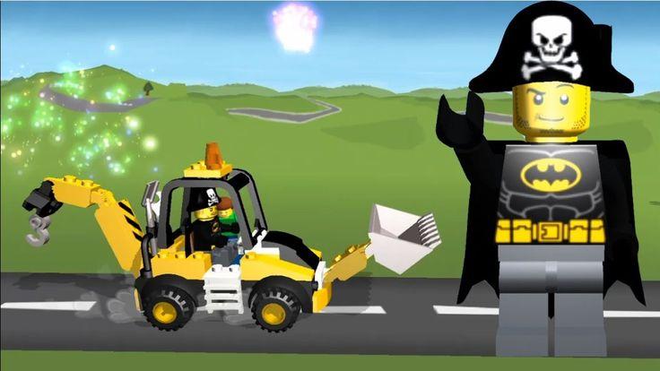LEGO Games 2017 | LEGO Juniors Create & Cruise Batman Build Construction...