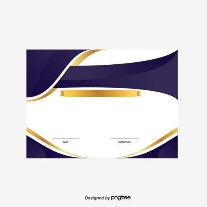 شهادة شكر وتقدير Certificate Design Template Certificate Design Poster Background Design