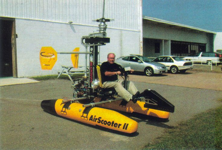 Airscooter Coaxial Personal Helicopter is another coaxial ultralight personal helicopters that had great promise, then faded away like many others have.