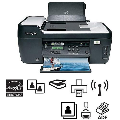 Lexmark Interpret S405 Wireless All-In-One (AIO) Printer/Copier/Fax Machine/Scanner, Refurbished