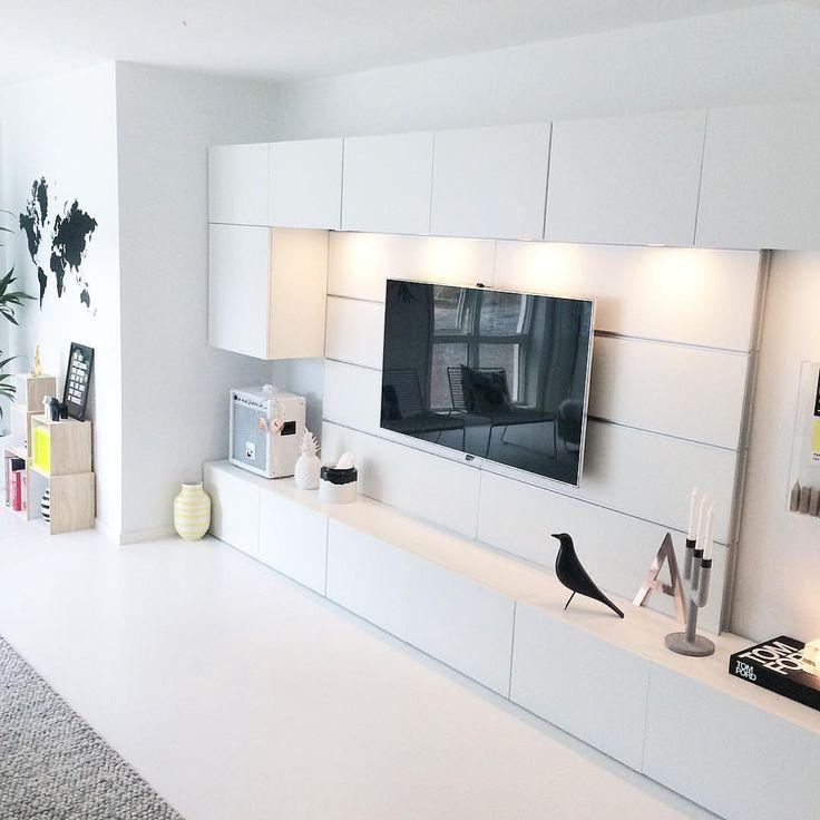 BESTÅ tv-meubel - wandkast Voor als een koof niet mogelijk is ...