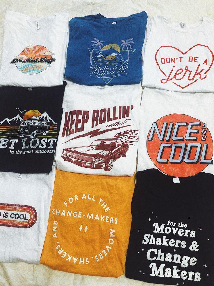 Unsere neueste Kollektion grafischer T-Shirts! Mit… – #grafischer #Kollektion …