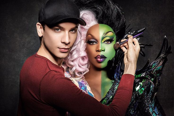 """Miss Fame & Todrick Hall @ set of music video """"Low"""""""