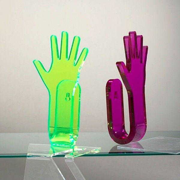 pour vos manteaux dcouvrez la patre hand up 1 main en plexi color http - Patere Colore