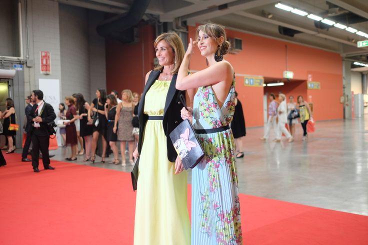 #PINKO #charity #convivio #convivio2014 #anlaids Cristina and Benedetta Parodi