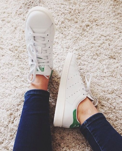 Adidas Stan Smith: Can be dressed up or down, more feminine, versatile.