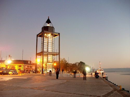The Lighthouse and pendulum in Valdivia